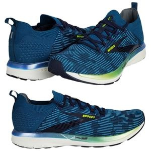 New Brooks ricochet 2 running shoes sneakers blue